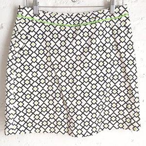 Fairway & Greene geometric golf skirt